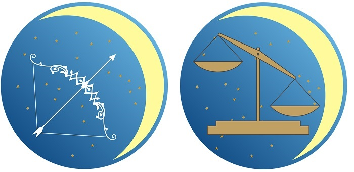 Sagittarius Man And Libra Woman Love Compatibility Friendship