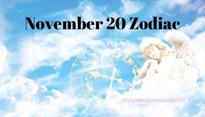 november 20th zodiac