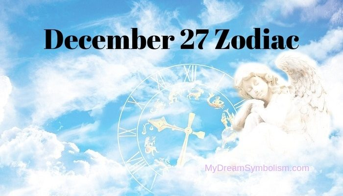 horoscope of person born on 27 december
